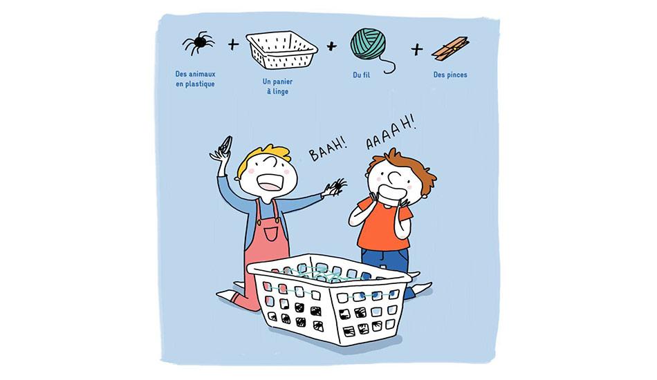 Comment occuper ses enfants quand il pleut : DIY chasse à l'araignée