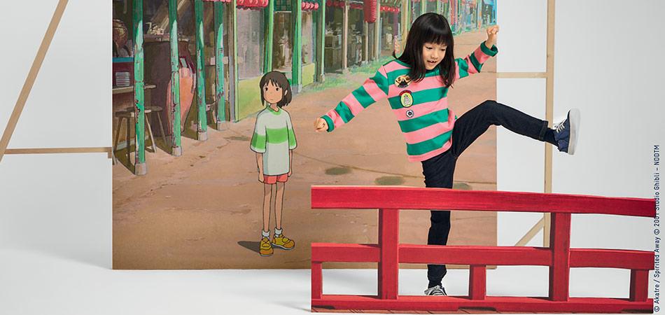 La collab collector Petit Bateau et Studios Ghibli