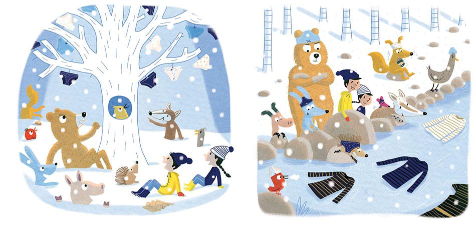 un conte de Noël qui se dévoile par épisodes