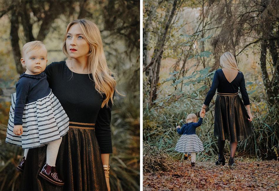 duo de tenues de fêtes mère fille par @lola_rossi