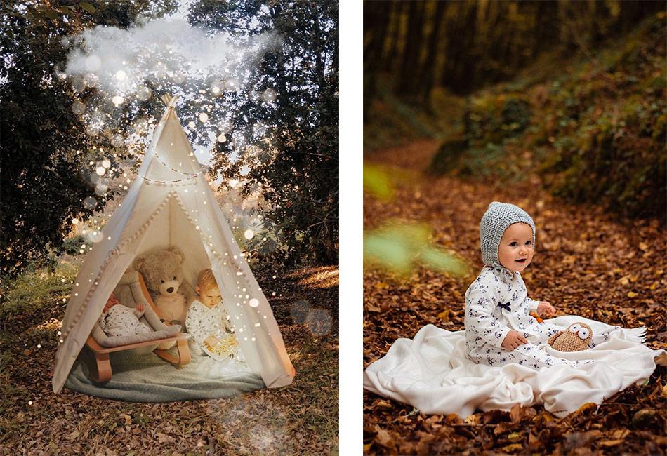 les pyjamas de Noel pour les bébés par Petit Bateau