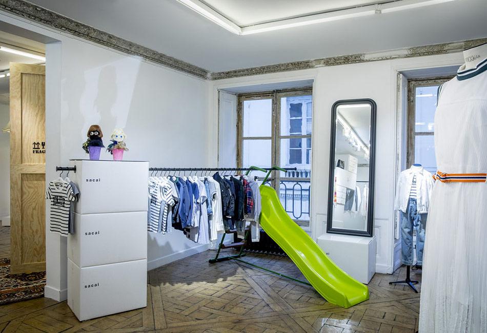 La collaboration Sacai Petit Bateau, Bonjour Sacai
