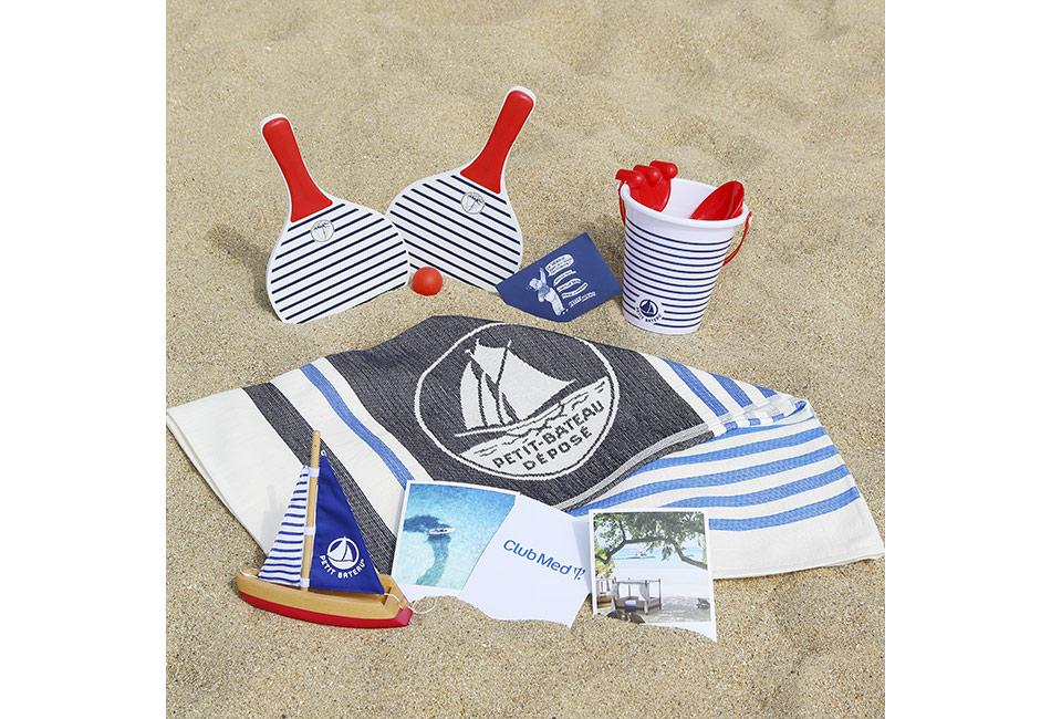 le concours de l'été : Club Med et Petit Bateau