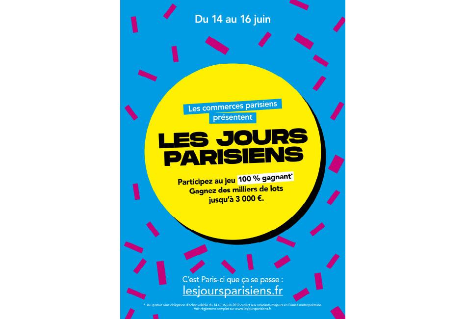 Les jours parisiens : 3 jours de jeu et des milliers de lots à gagner.