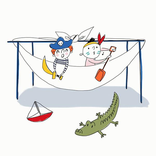 activités pour occuper vos enfant cet été par Petit Bateau